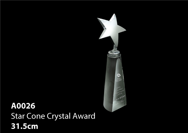 Star Cone Crystal Aw..