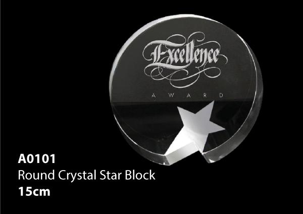Round Crystal Star B..