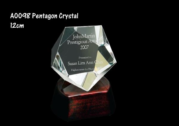 Pentagon Crystal