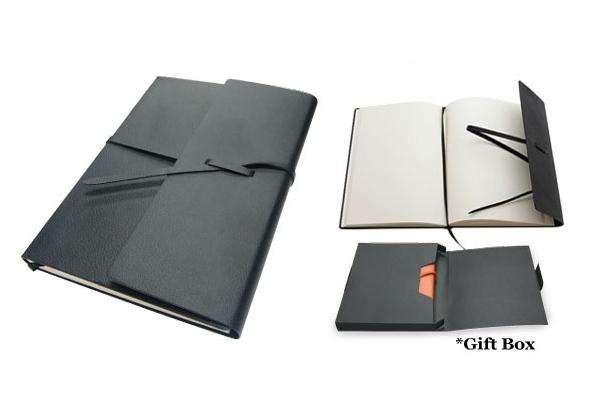 A6 Strap Note book