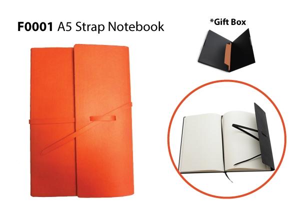 PZ A5 Strap Notebook