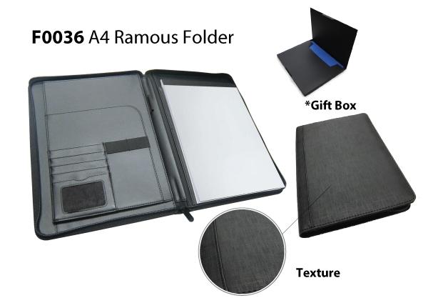 Ramous A4 Folder (BL..