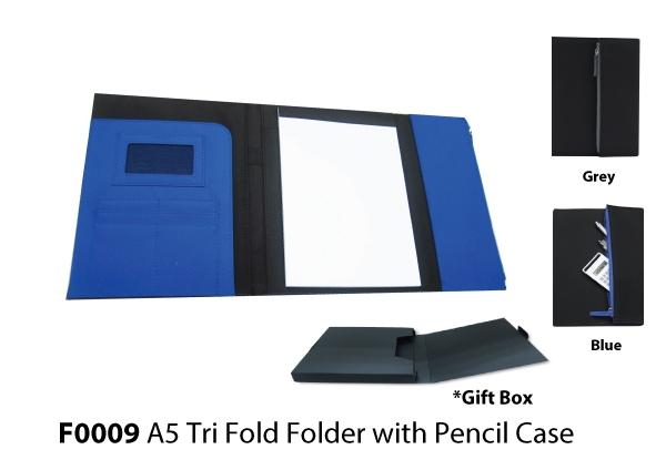 A5 Tri Fold Folder w..