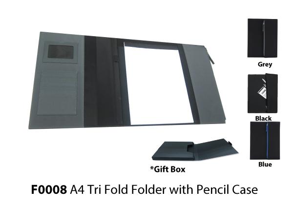 A4 Tri Fold Folder w..
