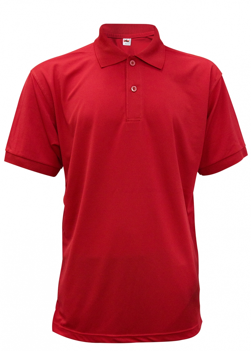 Dri Fit Polo - Red
