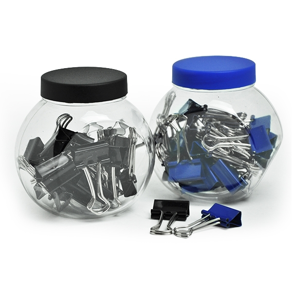 Binder Clip in Jar