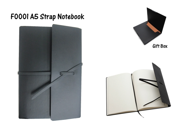 A5 Strap Notebook