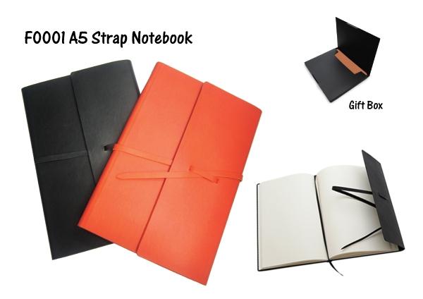 A5 Strap Notebook